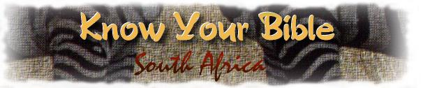 Know Your Bible South Africa